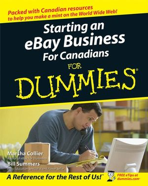 Starting an eBay Business For Canadians For Dummies (0470839465) cover image