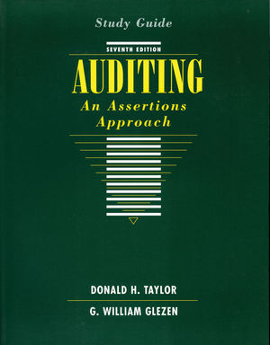 Auditing: An Assertions Approach, Study Guide, 7th Edition (0471171565) cover image