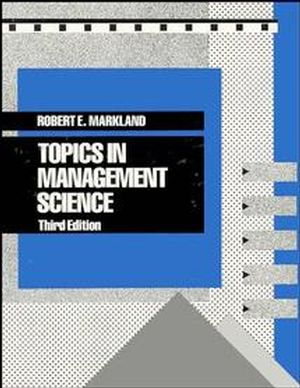 Topics in Management Science, 3rd Edition