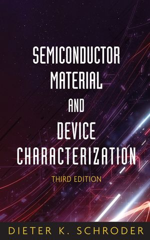 semiconductor material and device characterization by dieter k schroder pdf