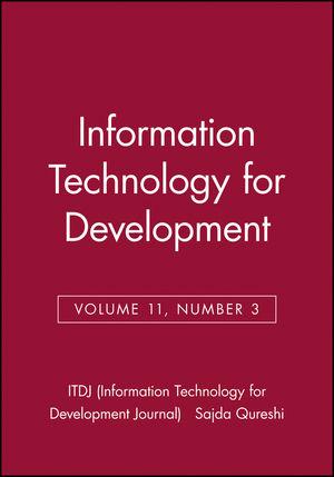 Information Technology for Development, Volume 11, Number 3