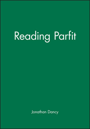 Reading Parfit (0631197265) cover image
