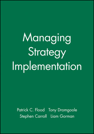 Managing Strategy Implementation (0631217665) cover image