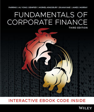 Fundamentals of Corporate Finance, 3rd Edition