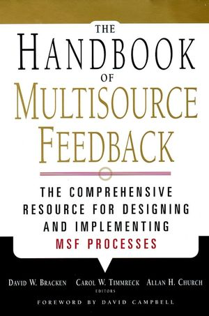 The Handbook of Multisource Feedback (0787958565) cover image