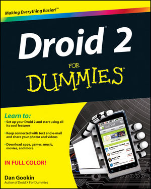 Droid 2 For Dummies (1118002865) cover image