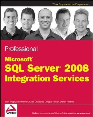 Professional Microsoft SQL Server 2008 Integration Services (1118059565) cover image