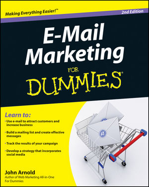 E-Mail Marketing For Dummies, 2nd Edition (1118075765) cover image