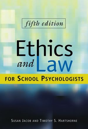 Ethics and Law for School Psychologists, CafeScribe, 5th Edition