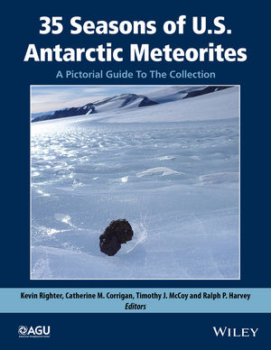 35 Seasons of U.S. Antarctic Meteorites (1976-2010): A Pictorial Guide To The Collection (1118798465) cover image