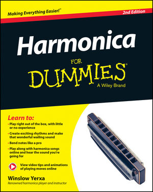 Harmonica For Dummies, 2nd Edition (1118880765) cover image