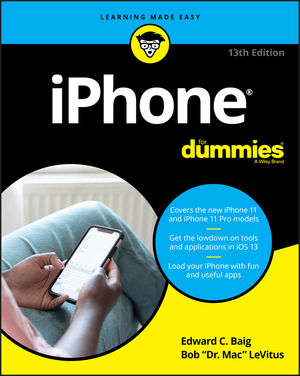 iPhone For Dummies, 13th Edition