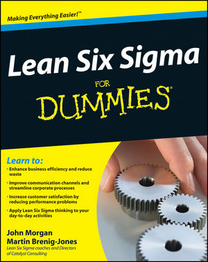 Lean Six Sigma For Dummies (1119992265) cover image