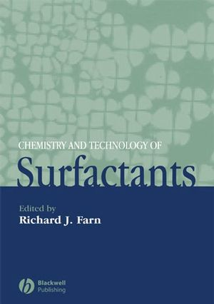 Chemistry and Technology of Surfactants (1405126965) cover image