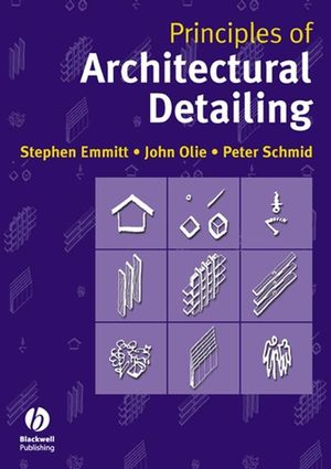Principles of Architectural Detailing (1405173165) cover image