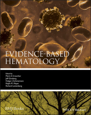 Evidence-Based Hematology (1444300865) cover image