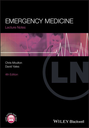 Lecture Notes: Emergency Medicine, 4th Edition (1444336665) cover image