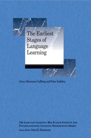 The Earliest Stages of Language Learning (1444338765) cover image