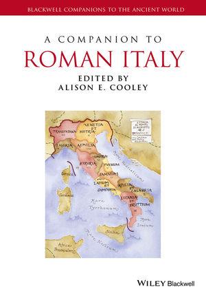 A Companion to Roman Italy (1444339265) cover image