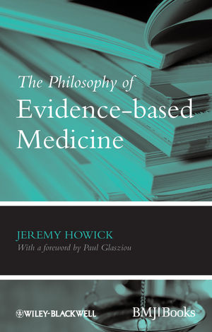 The Philosophy of Evidence-based Medicine (1444342665) cover image