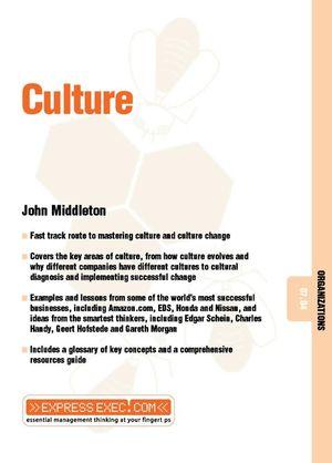 Culture: Organizations 07.04