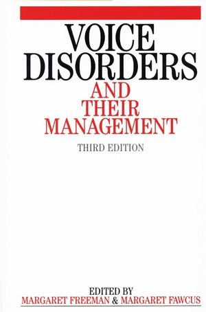 Voice Disorders and their Management, 3rd Edition (1861561865) cover image