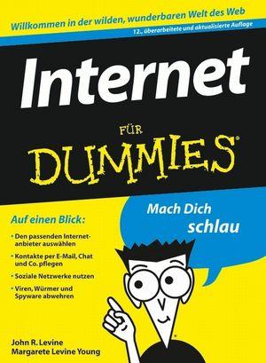 Internet für Dummies, 12. Auglage (3527638865) cover image
