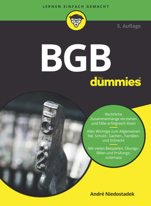 BGB für Dummies, 5. Auflage