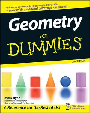 Geometry For Dummies, 2nd Edition (0470089466) cover image