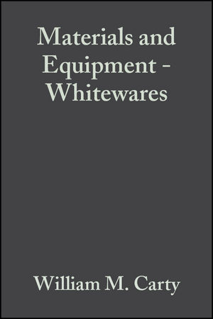 Materials and Equipment - Whitewares, Volume 21, Issue 2