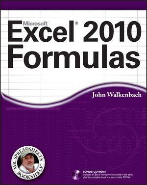 Excel 2010 Formulas (0470475366) cover image