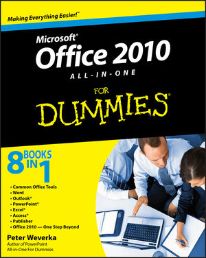 Office 2010 All-in-One For Dummies (0470768266) cover image