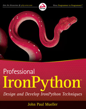 Professional IronPython (0470881666) cover image