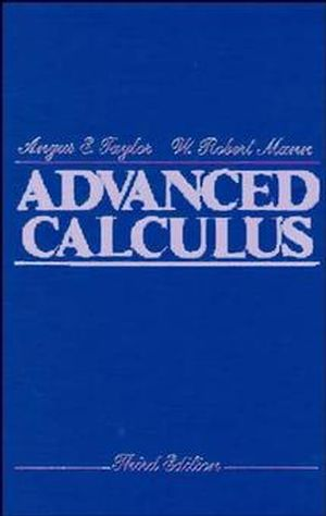 Advanced Calculus, 3rd Edition