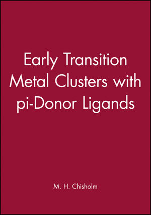 Early Transition Metal Clusters with pi-Donor Ligands