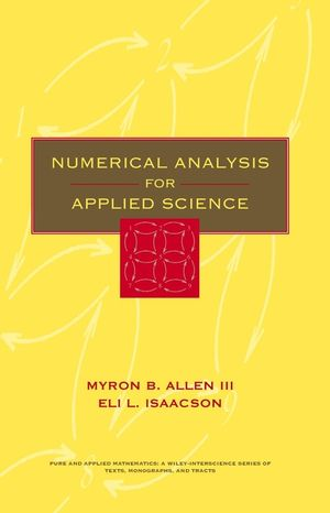 Numerical Analysis for Applied Science (0471552666) cover image