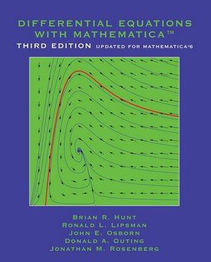 Differential Equations with Mathematica, 3rd Edition (0471773166) cover image