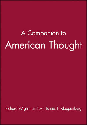 A Companion to American Thought (0631206566) cover image