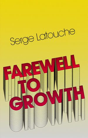 Farewell to Growth (0745646166) cover image