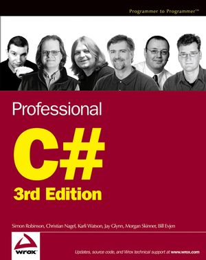 Professional C#, 3rd Edition (0764571966) cover image