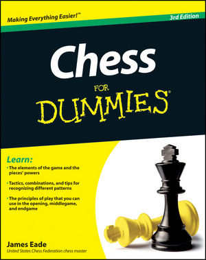 Chess For Dummies, 3rd Edition (1118162366) cover image