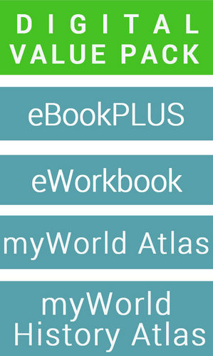 Retroactive 7 Australian Curriculum for History & eBookPLUS (Card) + Free Student Workbook (Card) + MyWorld History Atlas (Card)