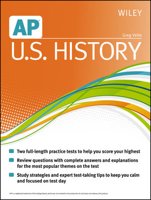 Wiley AP U.S. History (1118490266) cover image