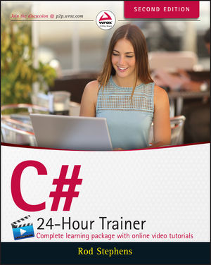 C# 24-Hour Trainer, 2nd Edition (1119065666) cover image