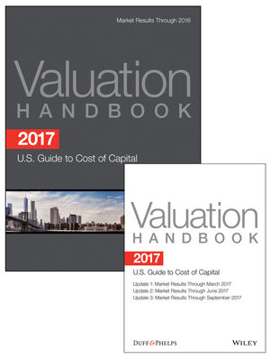 2017 Valuation Handbook - U.S. Guide to Cost of Capital + Quarterly PDF Updates (Set)