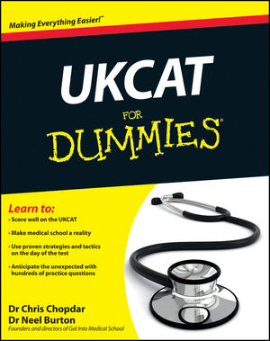 UKCAT For Dummies (1119966566) cover image