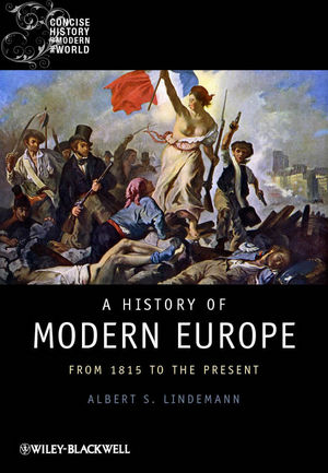 A History of Modern Europe: From 1815 to the Present (1405121866) cover image