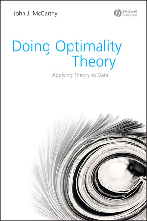 Doing Optimality Theory: Applying Theory to Data (1405151366) cover image