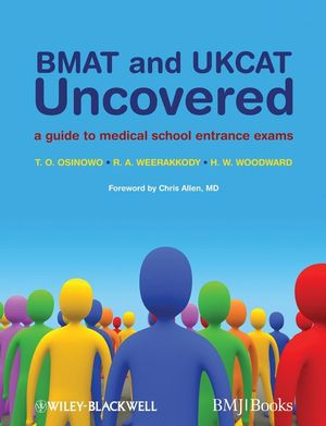 BMAT and UKCAT Uncovered: A Guide to Medical School Entrance Exams (1444357166) cover image