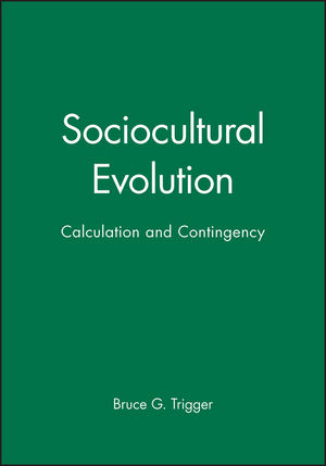 Sociocultural Evolution: Calculation and Contingency (1557869766) cover image